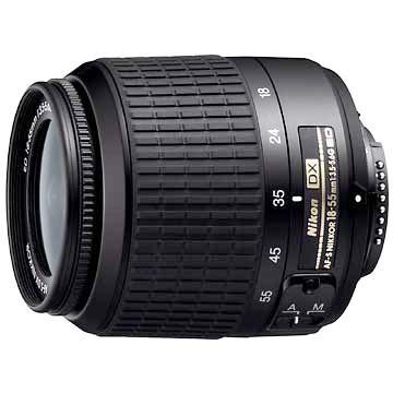 18-55mm F/3.5-5.6G ED AF-S DX Zoom-Nikkor Lens, With Nikon 5-Year USA Warranty