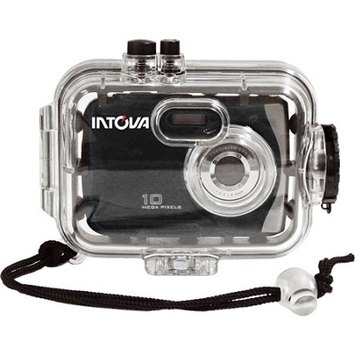 SPORT10K 10MP Waterproof Digital Sports Camera with 140' Waterproof Housing