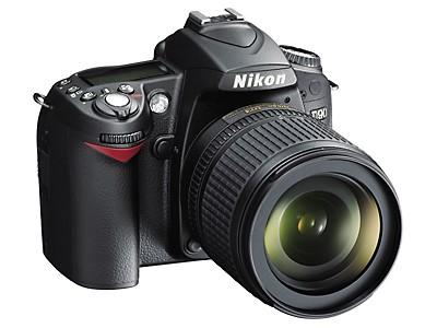 D90 DX-Format Digital SLR Outfit w/ 18-105mm DX VR Lens