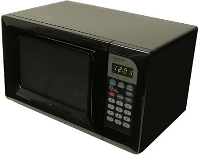 0.7 Cubic ft., 600 Watt Touch Control Microwave (Black)