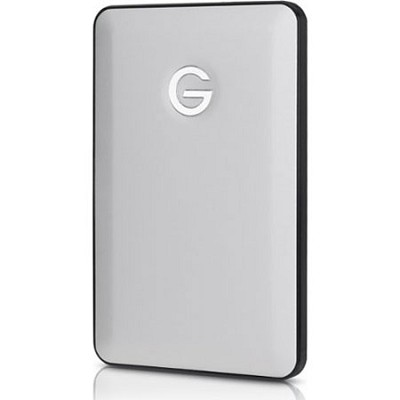 G-DRIVE 500GB Ultra-Slim USB 3.0 Silver Hard Drive for MacBook Air