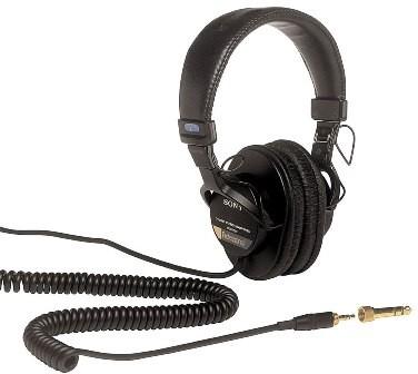 MDR-7506 Professional Large Diaphragm Headphones