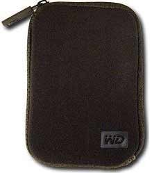 Neoprene Carrying Case for My Passport Portable Drives  WDBABH0000NBK-NRSN