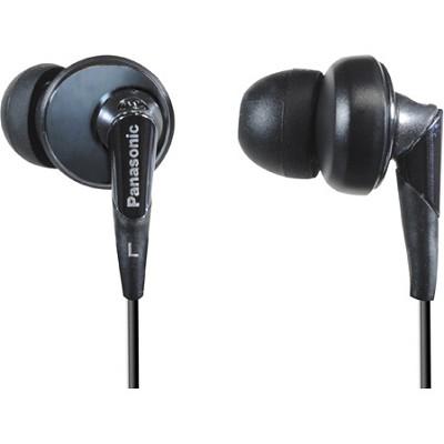RP-HJE450-K In-Ear ErgoFit Design Earbuds (Black)
