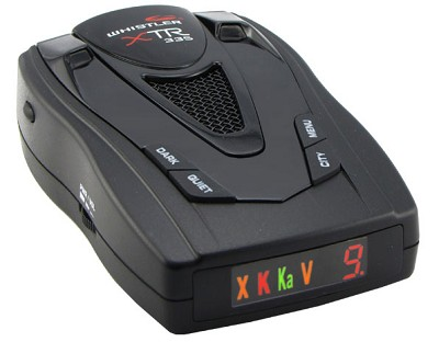 XTR-335 Laser/Radar Detector with Patented POP Mode Detection