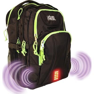 Urban Crew Laptop Backpack - Green/Black