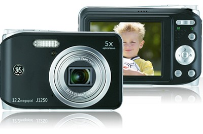 J1250 12MP Smart Series Digital Camera (Black)