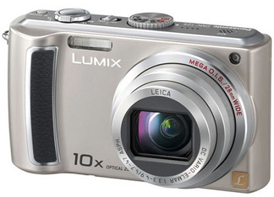 DMC-TZ5S - 9 Megapixel Digital Camera (Silver) w/ 3- inch LCD