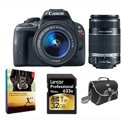 EOS Rebel SL1 Digital SLR w/  18-55mm EF-S STM Lens and 55-250mm STM Bundle Deal