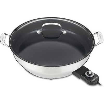 CSK-250 GreenGourmet 14-Inch Nonstick Electric Skillet