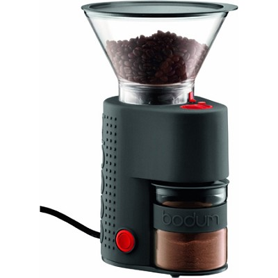 Bistro Electric Burr Coffee Grinder - Black