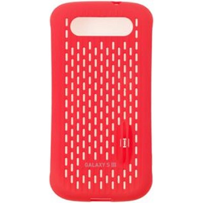 Galaxy S III Coin Stand Case - Red
