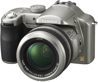 Lumix DMC-FZ30S Digital Camera (Silver)