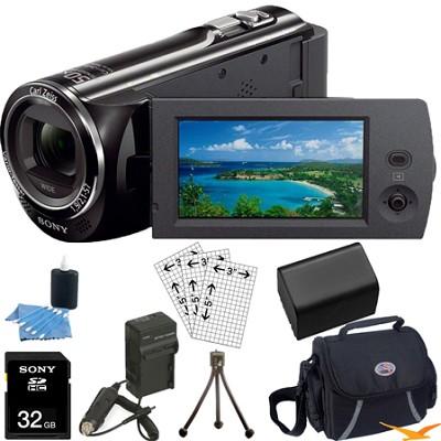 HDR-CX290/B 8GB Full HD Camcorder Ultimate Bundle