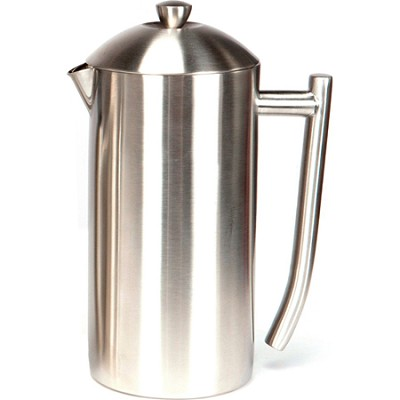 French Press, Brushed Stainless Steel  36 oz