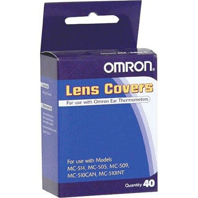 Disposable Lens Covers For Use with Omron Ear Thermometers - Box of 40