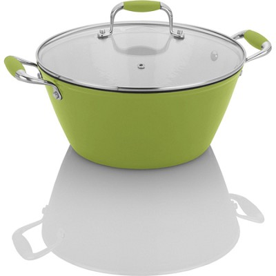 Michelle B. by Fagor Cast Iron Lite Soup Pot with Lid - 5 Qt