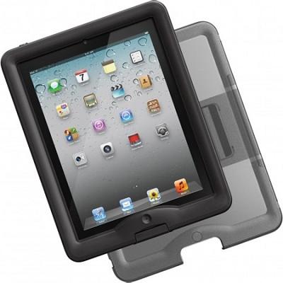 iPad 2/3 Nuud Case & Cover/Stand Bundle - Black