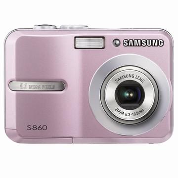 S860 8MP 2.4` LCD Digital Camera (Pink)