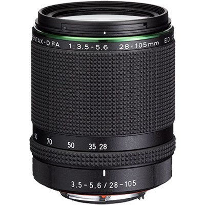 HD D FA 28-105MM F3.5-5.6ED DC WR Wide to Mid-Telephoto Range Zoom Lens