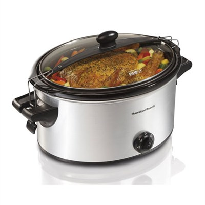 Stay or Go Slow Cooker, 6-Quart (33262A)