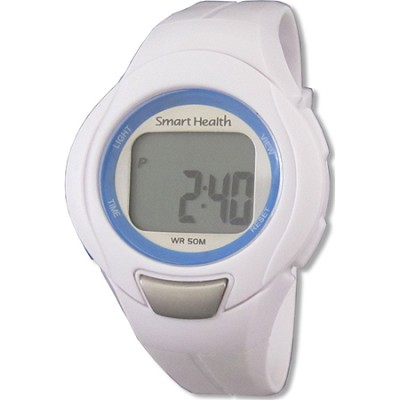 Walking FIT Heart Rate Monitor Watch Small - White