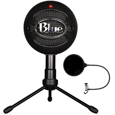 Snowball iCE Versatile USB Microphone w/ Pop Shield Wind Screen