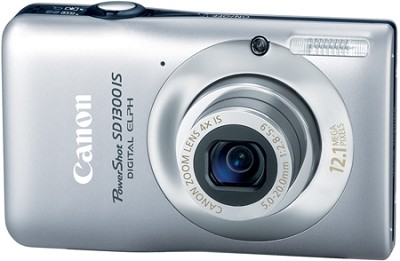 Powershot SD1300 IS 12MP Digital ELPH Camera (Silver)