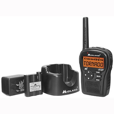 Portable Emergency Weather Radio with SAME (Black) - HH54VP2
