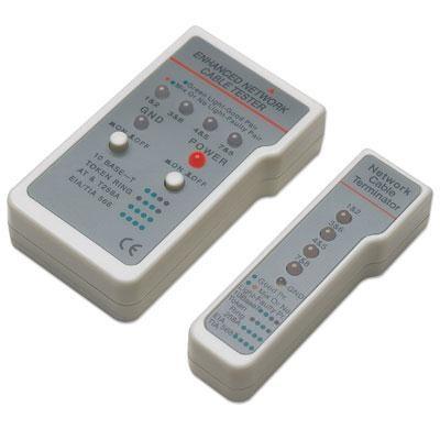 MANHATTAN Multifunction Cable Tester RJ-45/RJ-11 (351898)