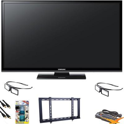 PN51E490 51 inch 3D 720p Plasma HDTV Value Bundle