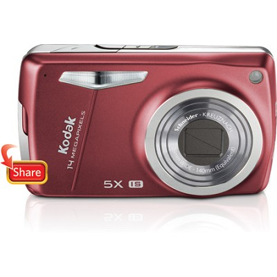 EasyShare M575 14MP 3.0` LCD Digital Camera (Red)