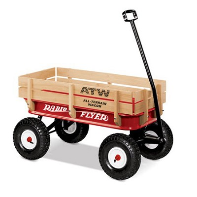 All-Terrain Steel & Wood Wagon