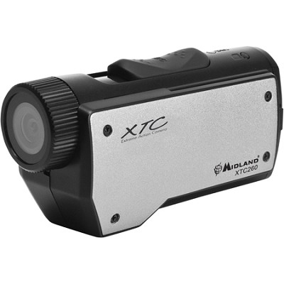 High Definition 720p Wearable Action Camera with 2 Mounts (Black) REFURBISHED