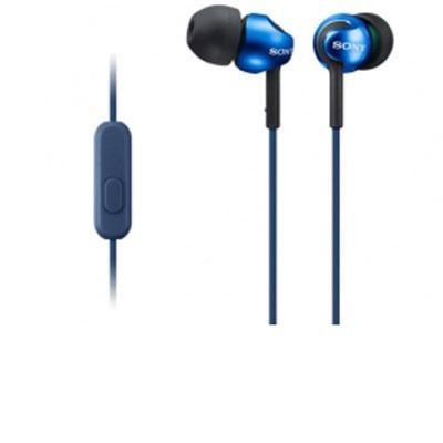Step-Up EX Series In-Ear Headphones in Blue - MDREX110AP