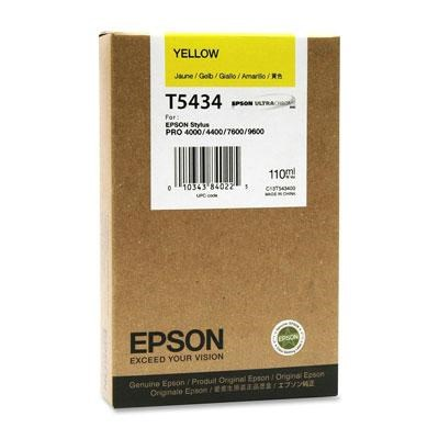 UltraChrome Yellow Ink Cartridge - T543400