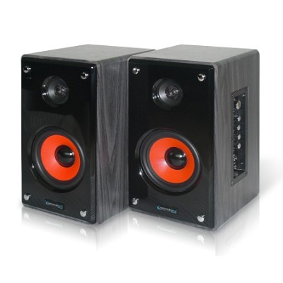 MRSUR-8 8` Studio Monitor Speakers - Red Woofer