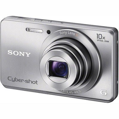 Cyber-shot DSC-W690 16MP 10X Zoom 720p Video (Silver) - OPEN BOX