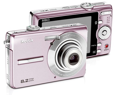 EasyShare M863 8.2 MP Digital Camera (Pink)