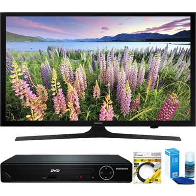 50-Inch Full HD 1080p LED HDTV (2015 Model) + HDMI DVD Player Bundle