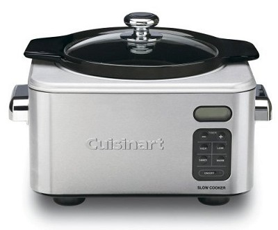 6.5 Quart Programmable Slow Cooker, Brushed Stainless Steel