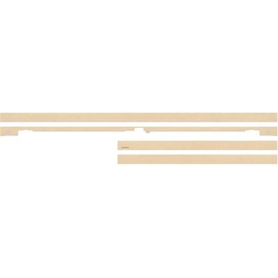 65` Customizable Frame Beige/Light Wood Finish (VG-SCFM65LW/ZA)