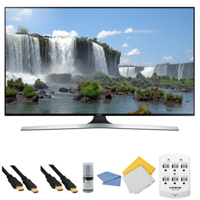 UN65J6300 - 65-Inch Full HD 1080p 120hz Slim Smart LED HDTV + Hookup Kit