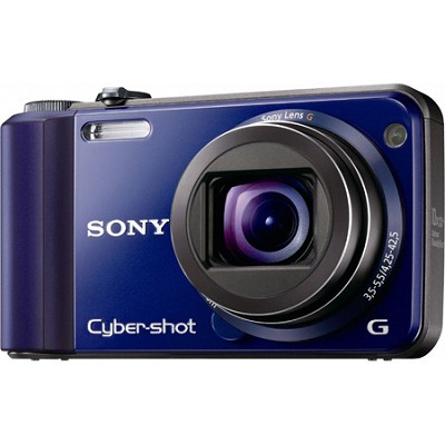 Cyber-shot DSC-H70 Blue Digital Camera - OPEN BOX