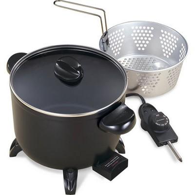 6-Quart Kitchen Kettle Multi-Cooker/Steamer