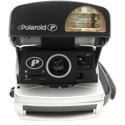 Polaroid 600 Round Camera - Silver - 4654