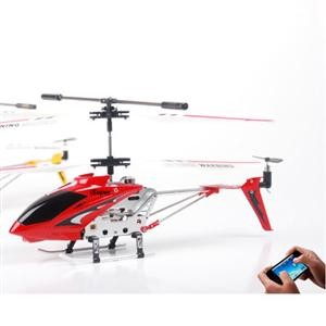 iHeli-007 Helicopter Controlled by iPhone/iPad/iPod Touch ( Red Model )