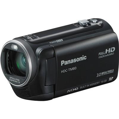 HDC-TM80K HD Twin Memory Camcorder (Black)  OPEN BOX