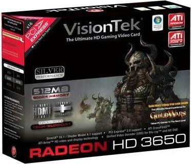 RADEON HD3650 PCIE 512MB 2PORT DVI 300W REQ
