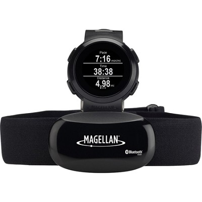 Echo Smart Running Watch with Heart Rate Monitor-Bluetooth Smart - Black